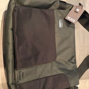 Tumi laptop messenger bag